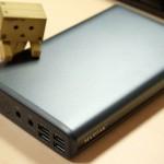 【レビュー】ノートPCも充電出来るモバイルバッテリー