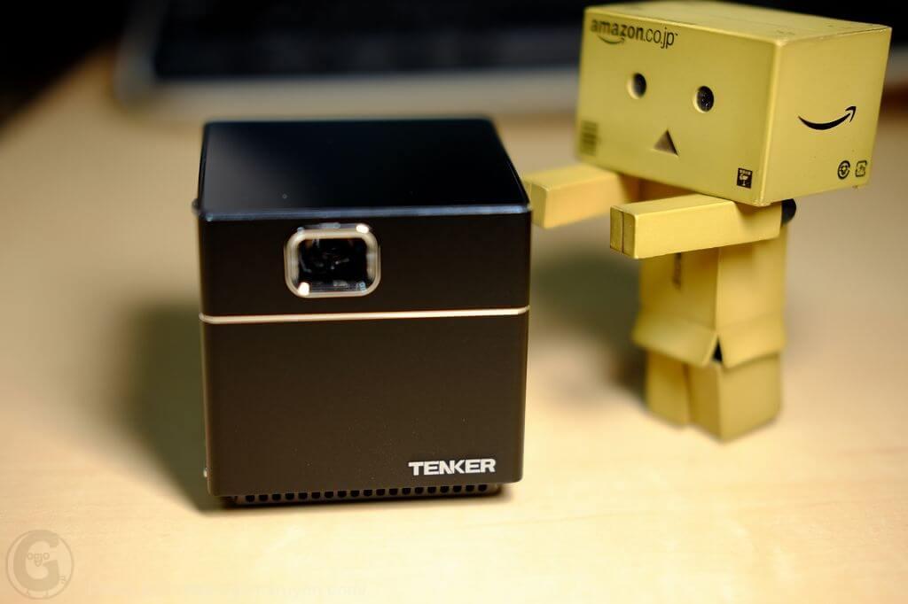 【レビュー】tenker Dlp 超小型ミニプロジェクター使ってみた結果!
