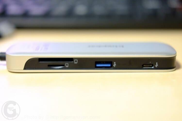 Kingston NucleumのUSB MicroSD SD USB-C