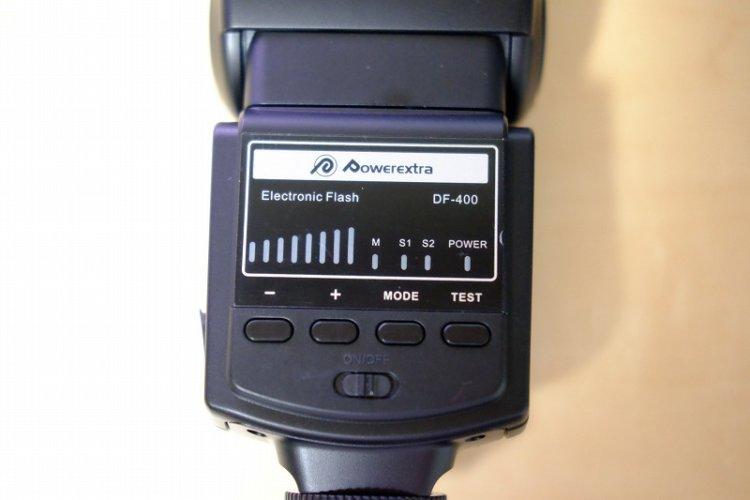Powerextra DF-400 ストロボ
