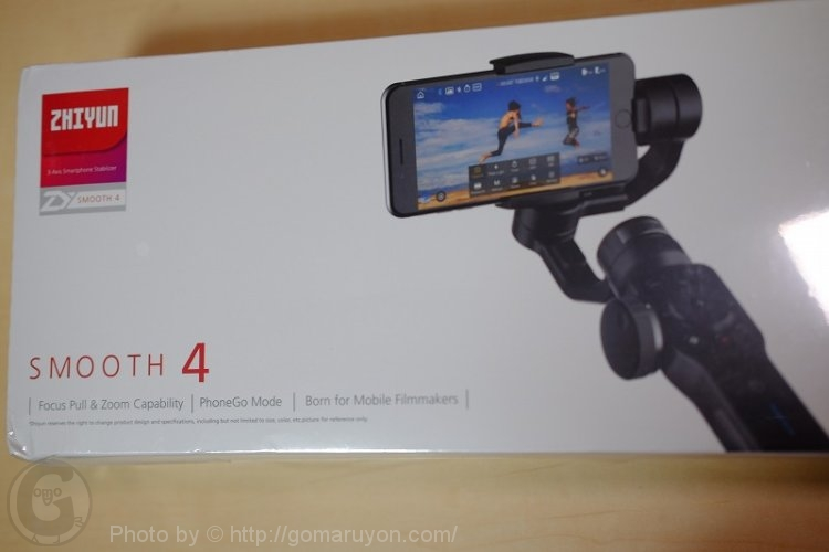 Zhiyun Smooth 4 レビュー