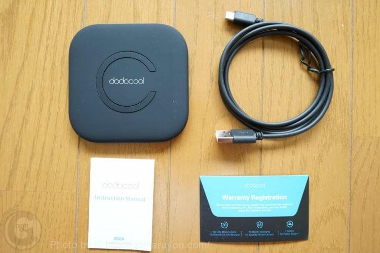 dodocool Qiワイヤレス充電器