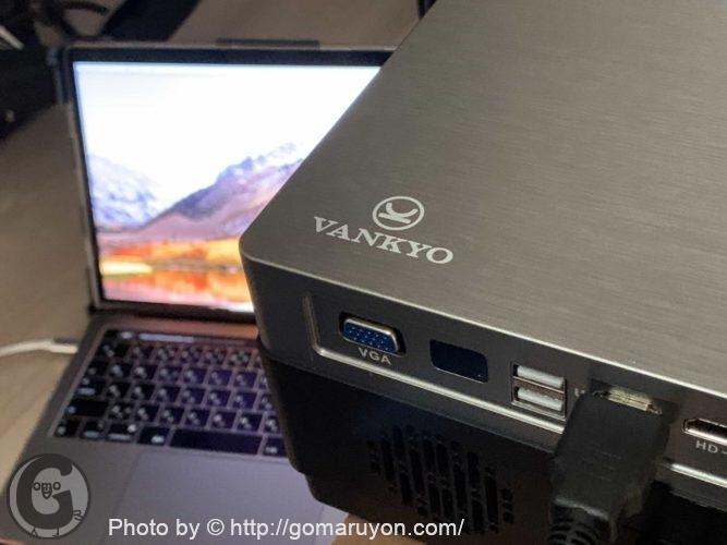 Vankyo 1080pフルHDプロジェクターV600