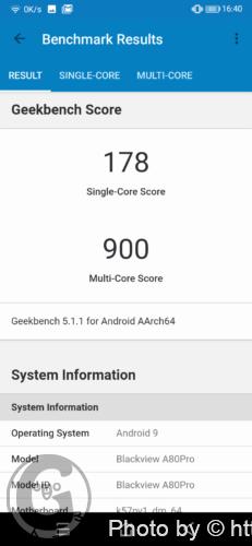 Blackview A80 Proのスペック性能