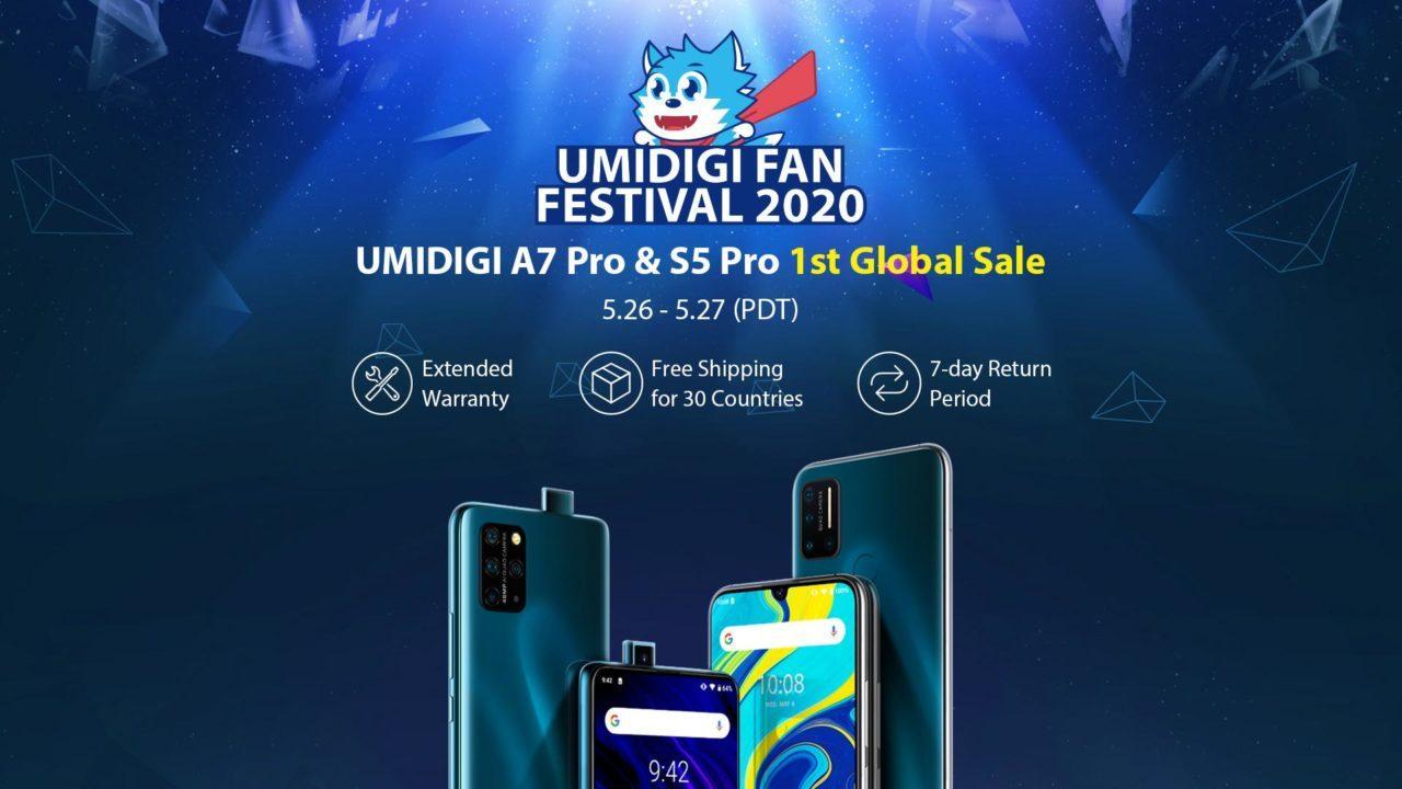 UMIDIGI S5 PROとA7 PRO